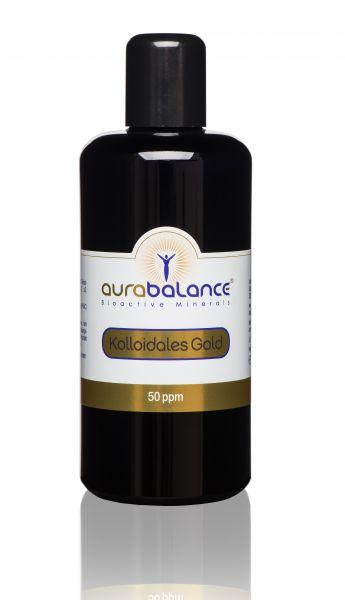 Kolloidales Gold (Goldwasser) - 50 ppm 200ml